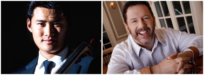 Jonah Kim, Cello and Jeffrey Sykes, Piano