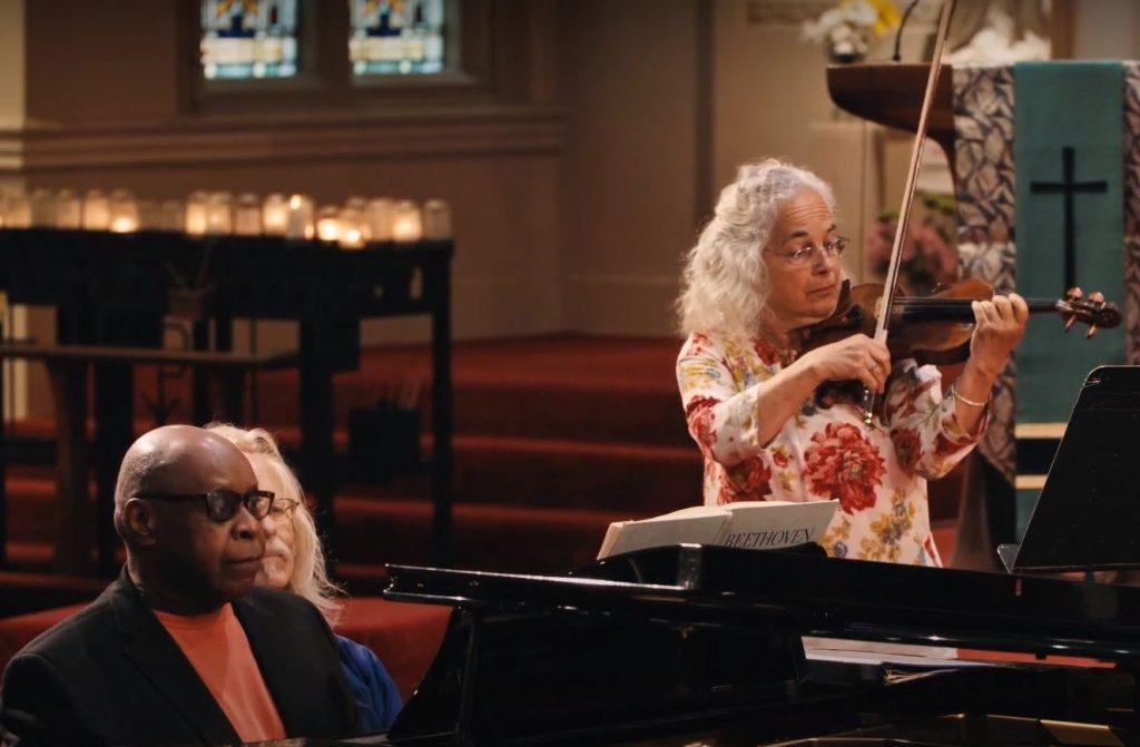 Barbara Riccardi, Violin and Carl Blake, Piano