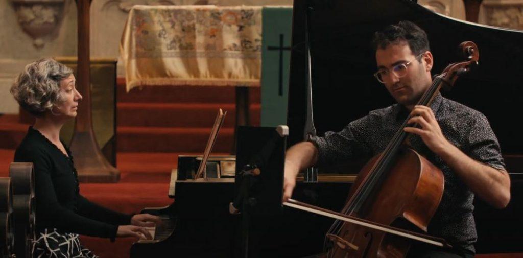 Evan Kahn, Cello and Amy Zanrosso, Piano